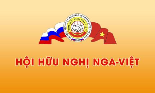 Website Hội Hữu nghị Nga-Việt