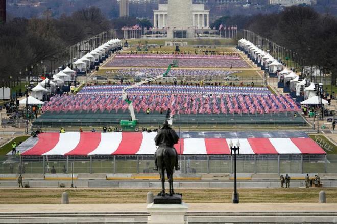Ảnh: Tổng duyệt lễ nhậm chức của ông Biden