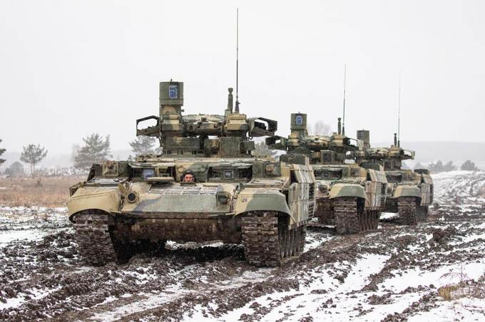 Chiêm ngưỡng ''Kẻ hủy diệt'' của Lục quân Nga phô diễn sức mạnh