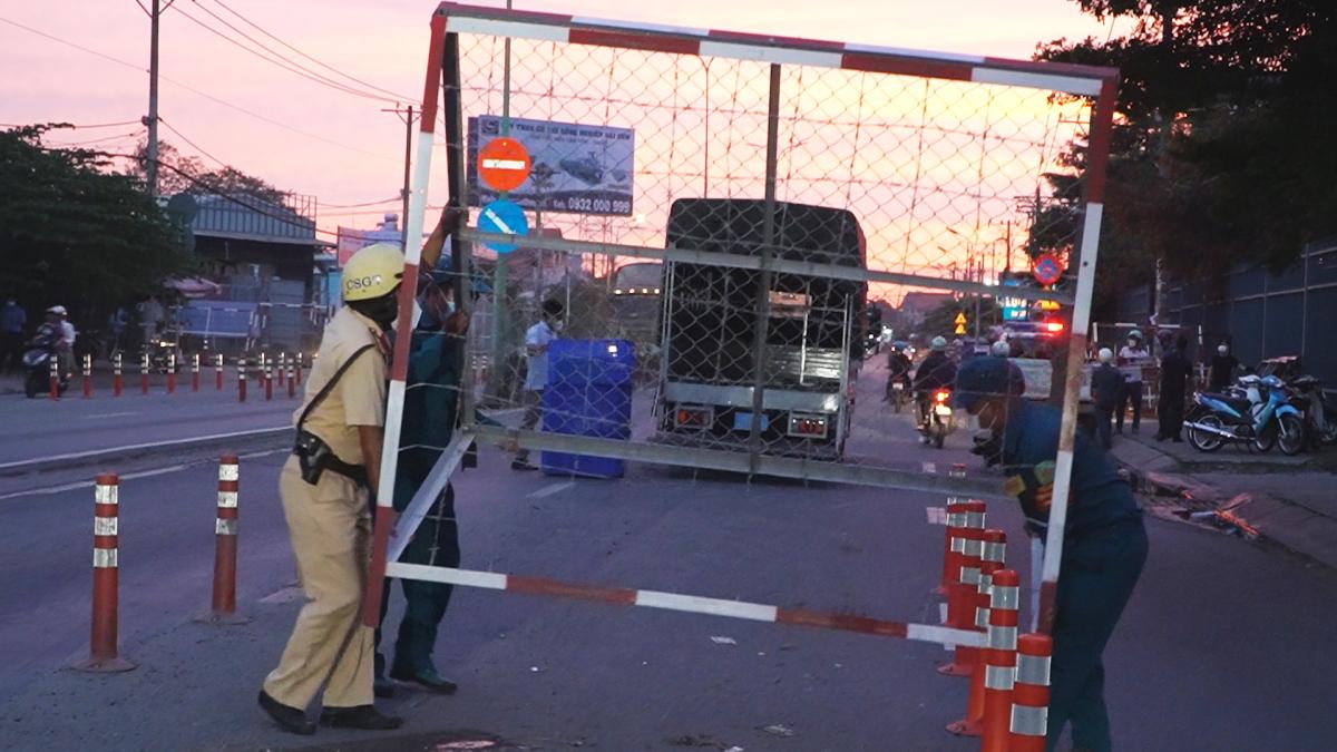 51 chốt kiểm soát cửa ngõ TP HCM được tháo dỡ