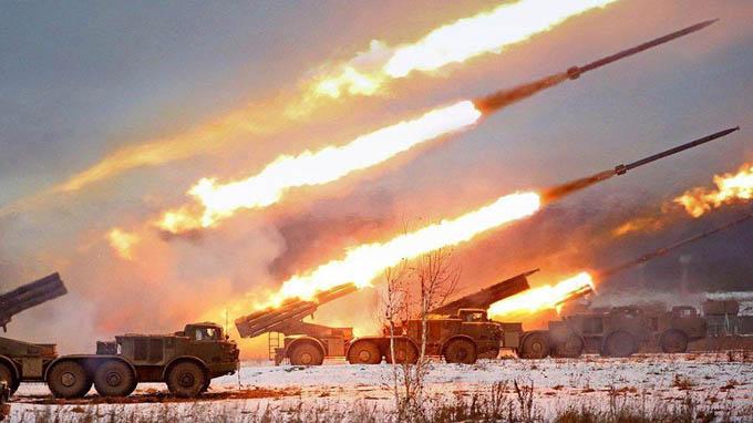 Video: 10.000 lính Nga tập khai hỏa cấp chiến lược ở khu vực Volga
