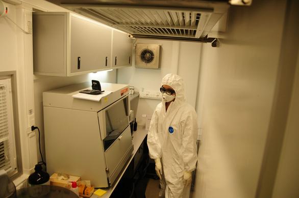 Bên trong cỗ máy xét nghiệm COVID-19 của Trung tâm Nhiệt đới Việt - Nga