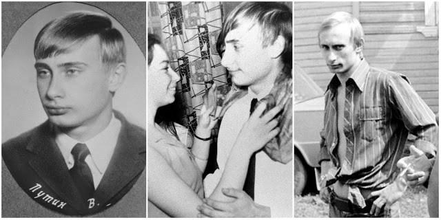 Hình ảnh hiếm thời trẻ của Tổng thống Nga Vladimir Putin