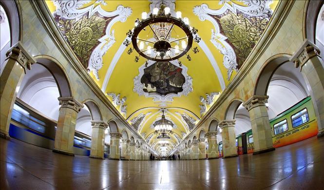 Khám phá 'Cung điện dưới lòng đất' ở Moskva