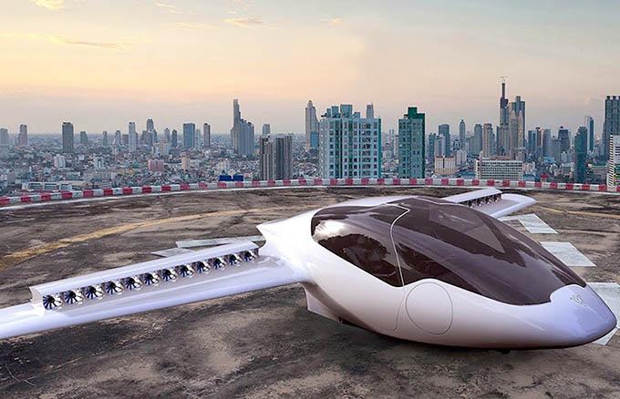 Video: Taxi bay có thể đạt vận tốc 300km/h