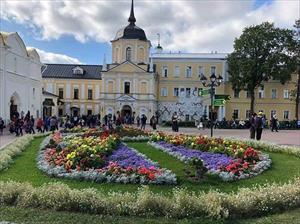 Vẻ đẹp bình yên ở vùng ngoại ô nước Nga