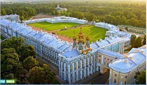 Cung điện Catherine hoa lệ ở Saint Peterburg, điểm du lịch bạn nên đến