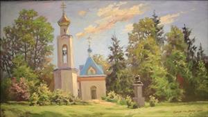 Có một nước Nga đẹp ngỡ ngàng qua tranh vẽ