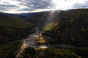 Ảnh: Lặng người trước vẻ đẹp mê hồn của vùng Siberia (Nga) giữa thu