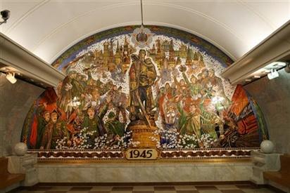 Moscow metro - mê cung dưới lòng đất ở Nga