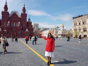 Hành trình về với nước Nga