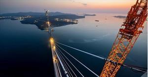 Cầu Russky- cây cầu dây văng dài nhất thế giới tại Nga