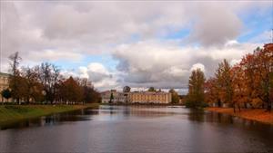 Mùa thu đẹp như tranh vẽ ở Saint Petersburg