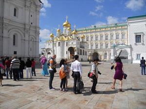 Du khách Việt ào ạt đến Nga