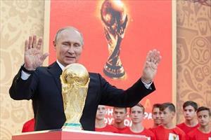 Tổng thống Putin: 'Nước Nga cảm ơn những lời tốt đẹp của hàng triệu du khách'