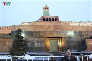 Chùm ảnh: Biểu tượng cộng sản vẫn phổ biến ở nước Nga hiện nay