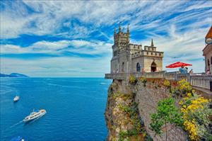 Các thắng cảnh ở bán đảo Crimea, Nga