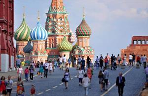 Ảnh: 100 năm sau ngày Nga dời đô từ St. Petersburg đến Moscow