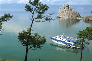 Ảnh: Vẻ đẹp mát lạnh, trong vắt của hồ Baikal ở Siberia (Nga)
