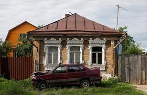 Khám phá kiến trúc nhà gỗ ở vùng thôn quê nước Nga