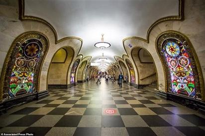 Đến Nga mùa World Cup 2018, chớ bỏ qua kiệt tác ga tàu điện ngầm