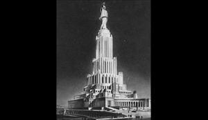 Bảy tòa nhà chọc trời Stalin: Cung Xô Viết Moskva dở dang