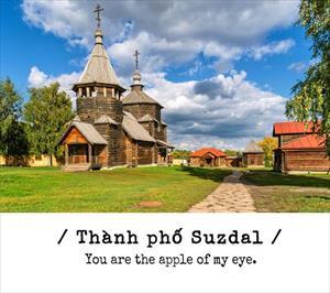 Du lịch vòng quanh nước Nga với những câu tỏ tình cực chất