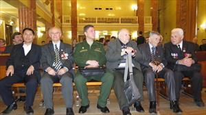 """Lễ giới thiệu và trao tặng tập 16 - Hồi ký của các cựu binh Nga ở các nước  """"Từ người Lính đến tướng lĩnh – Những hồi ức về chiến tranh"""""""