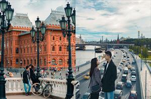 Vẫn biết nước Nga rất đẹp, nhưng xem album ảnh du lịch của cặp đôi người Việt này xong chỉ biết thốt lên: Hơn cả tưởng tượng!