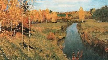 Nước Nga tuyệt đẹp qua tranh của Levitan
