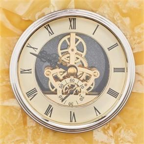Đồng hồ Hổ phách - Món quà tặng độc đáo đến từ nước Nga