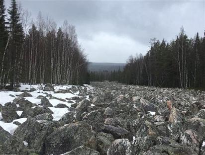 [ẢNH] Điều thú vị về Big Stone - dòng sông không có nước ở Nga
