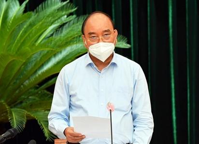 Chủ tịch nước: 'TP HCM phải thực hiện nghiêm giãn cách'