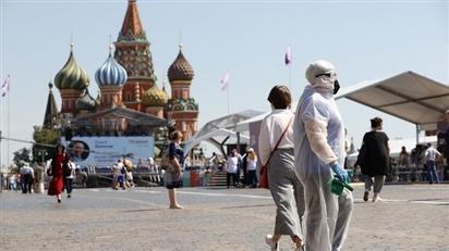 Dịch COVID-19 tấn công thủ phủ du lịch của nước Nga