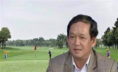 Cục phó chơi golf ở Bình Định ''xin rút kinh nghiệm''