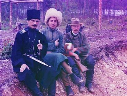 Cực hiếm loạt ảnh màu tái hiện cuộc sống ở Đế quốc Nga