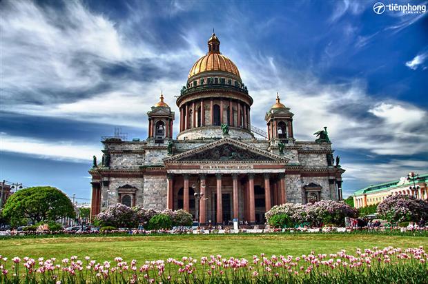 Nhà thờ thánh Isaac, công trình kiến trúc đẹp nhất của đế chế Nga