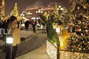 Thủ đô Moscow trang hoàng lộng lẫy đón Giáng sinh