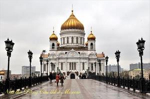 Nhà thờ Chúa Cứu Thế ở Moscow