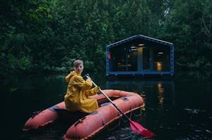 Khám phá kiểu nhà nổi nghỉ dưỡng độc đáo ở Nga