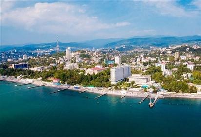 Thành phố Sochi - Một trong những điểm đến đẹp nhất của nước Nga