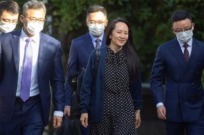 Mỹ đạt thỏa thuận phóng thích 'công chúa' Huawei