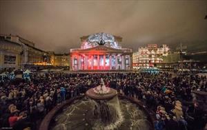Lễ hội ánh sáng tại Mátxcơva năm 2016 từ 23/9 đến 27/9