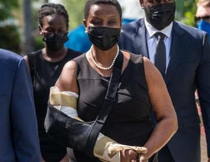 Đệ nhất phu nhân Haiti: Những kẻ ám sát tổng thống sẽ không dừng lại