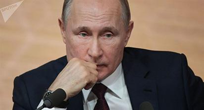 Tổng thống Nga Vladimir Putin sẽ có bài phát biểu trước toàn dân vào lúc 16:00