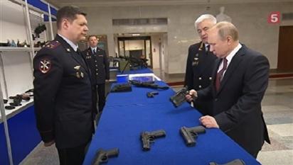 Bộ Nội vụ Nga chuẩn bị trang bị loại súng lục chiến đấu mới nhất