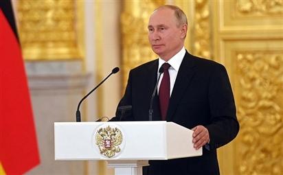 Thông điệp bảo vệ lợi ích của người dân Nga