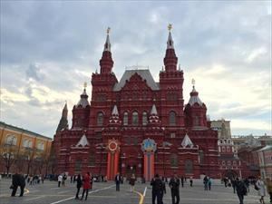 Đêm trắng bao phủ thành phố ở Nga