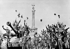 Chào mừng Ngày Chiến thắng của nhân dân Liên bang Nga anh em