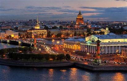 Saint Petersburg - Thành phố bên bờ sông Neva